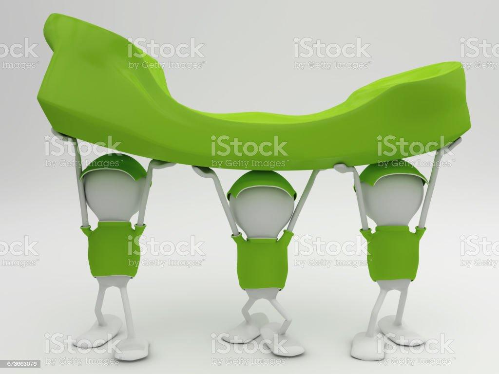 Customer service concept stock photo