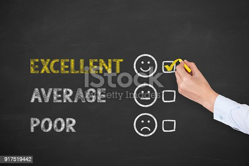 istock Customer service evaluation 917519442