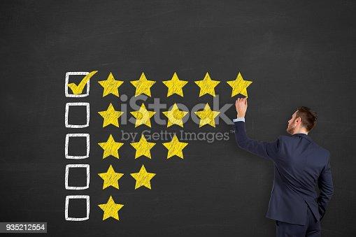 istock Customer service evaluation 935212554