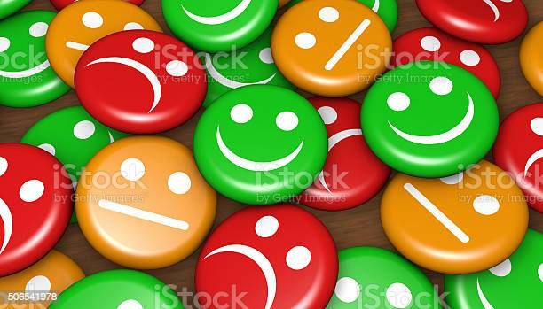 Customer Service Feedback Happy Rating Stock Photo - Download Image Now