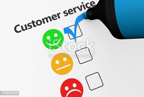 533983044istockphoto Customer Service Happy Feedback Business Checklist 579423376