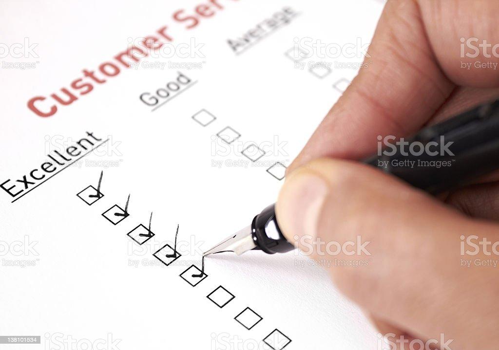 Customer service royalty-free stock photo