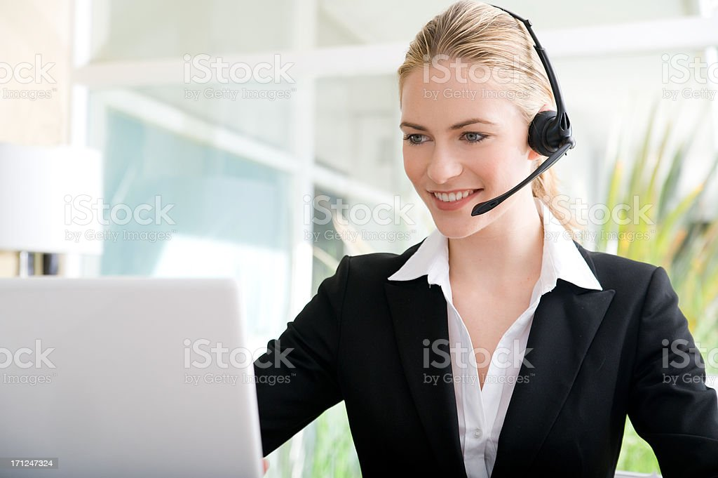 Customer service royalty-free stock photo