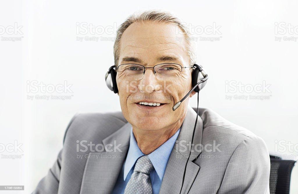 Customer service. royalty-free stock photo