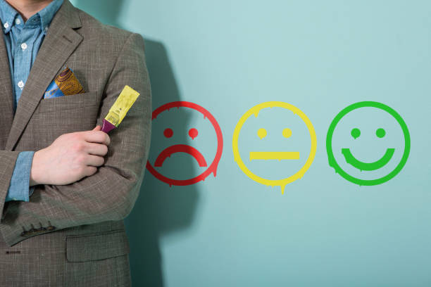 customer service analyzing customer service. customer feedback critic stock pictures, royalty-free photos & images