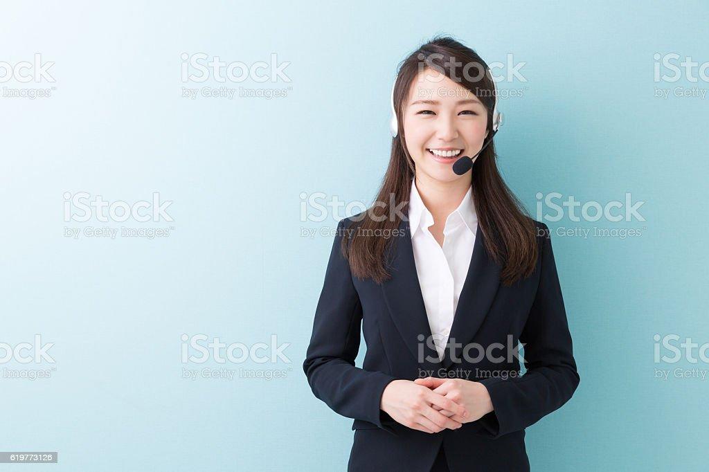 顧客サービス担当者  ストックフォト