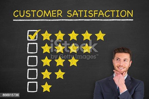 istock Customer Service Representative 856915736