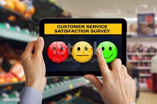 533983044istockphoto Customer service satisfaction survey 492042290