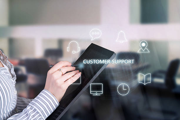 Customer service support. - Photo