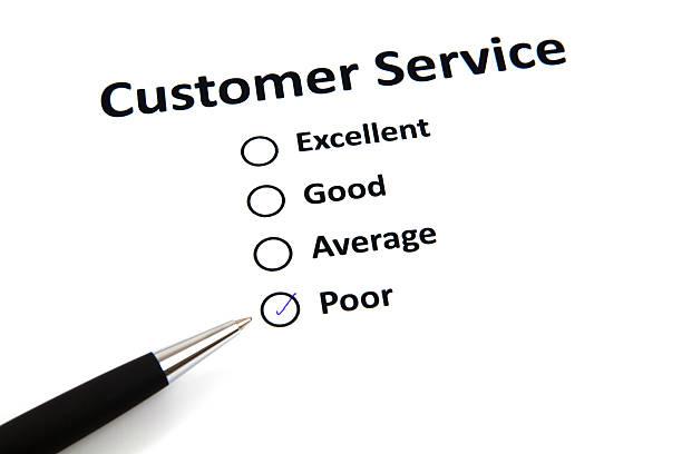 Kundenservice Umfrage mit Kontrollkästchen – Foto