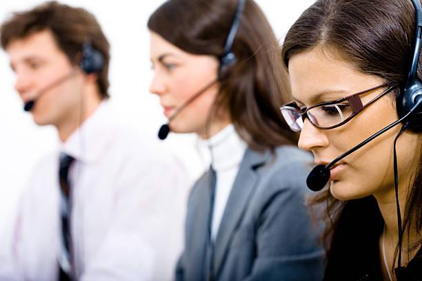 Customer Service Team stock photo