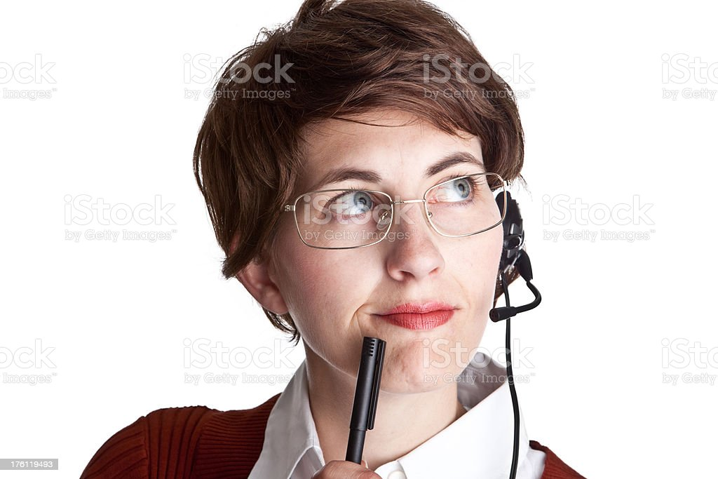 Kunden Service Frau – Foto