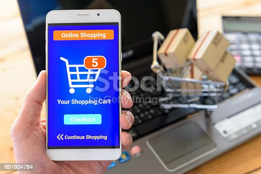 Shopper or a customer shops online by using online shopping apps. Online shopping is a form of electronic commerce that allows consumers to directly buy goods or services from sellers over internet.