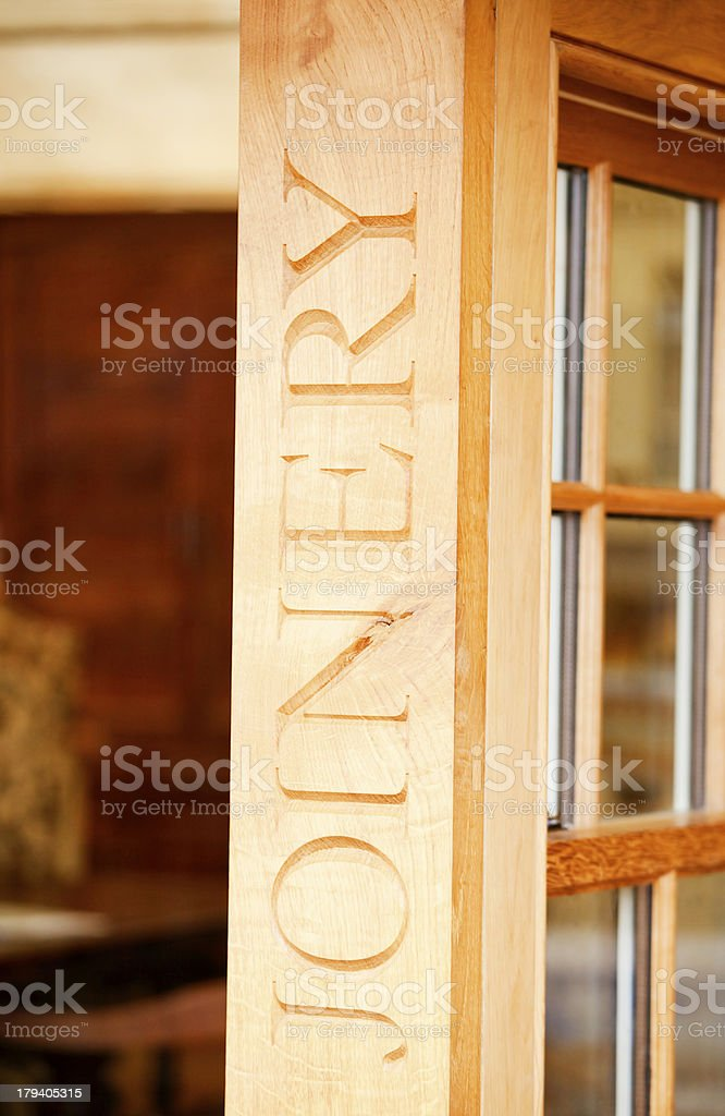 Customised Joinery royalty-free stock photo