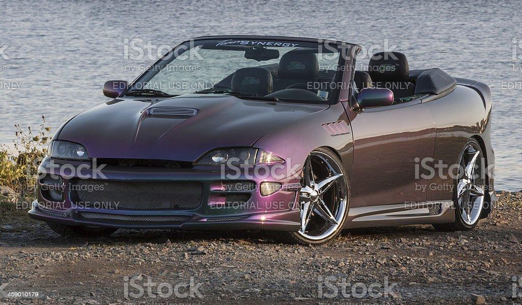 Customized Cavalier Convertible stock photo