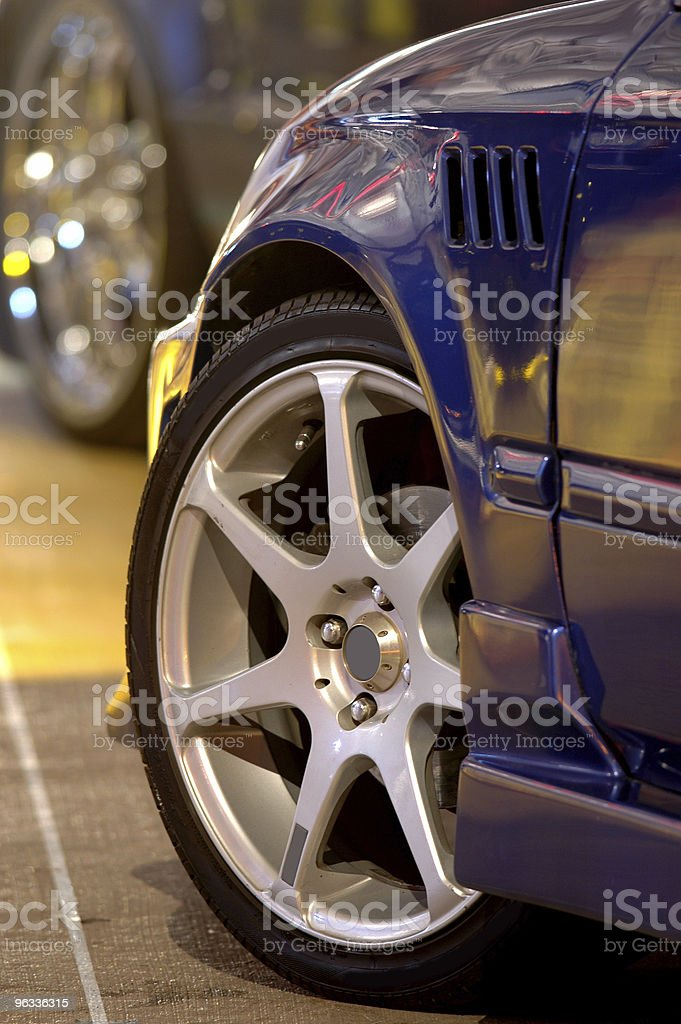Customized Sport Compact royalty-free stock photo