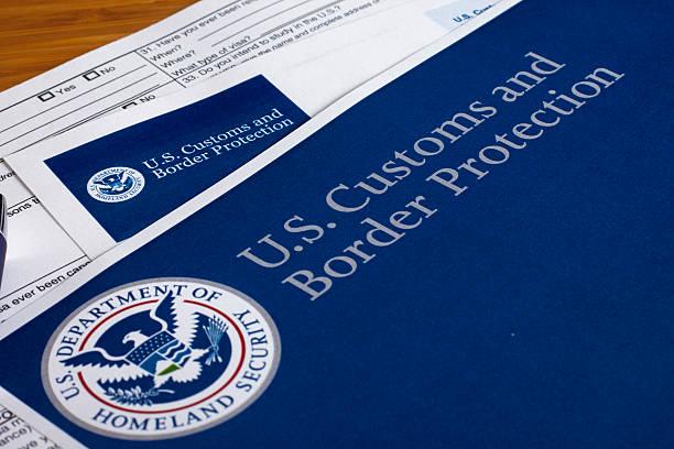 Alfândega e Proteção de Fronteiras dos EUA - foto de acervo