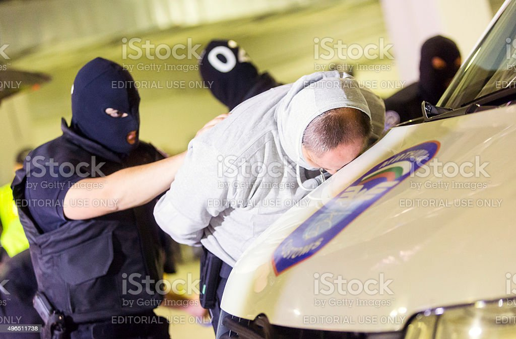 Customs drugs detection stock photo