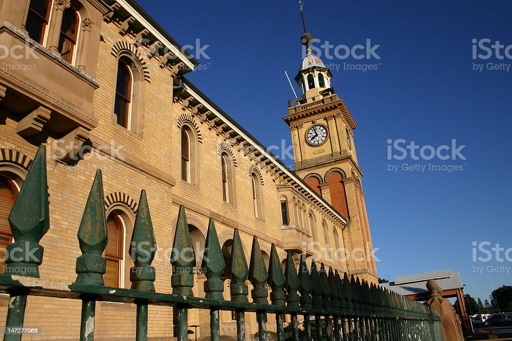 customs house royalty-free stock photo