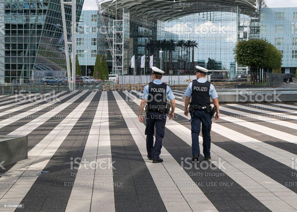 Customs Police stock photo