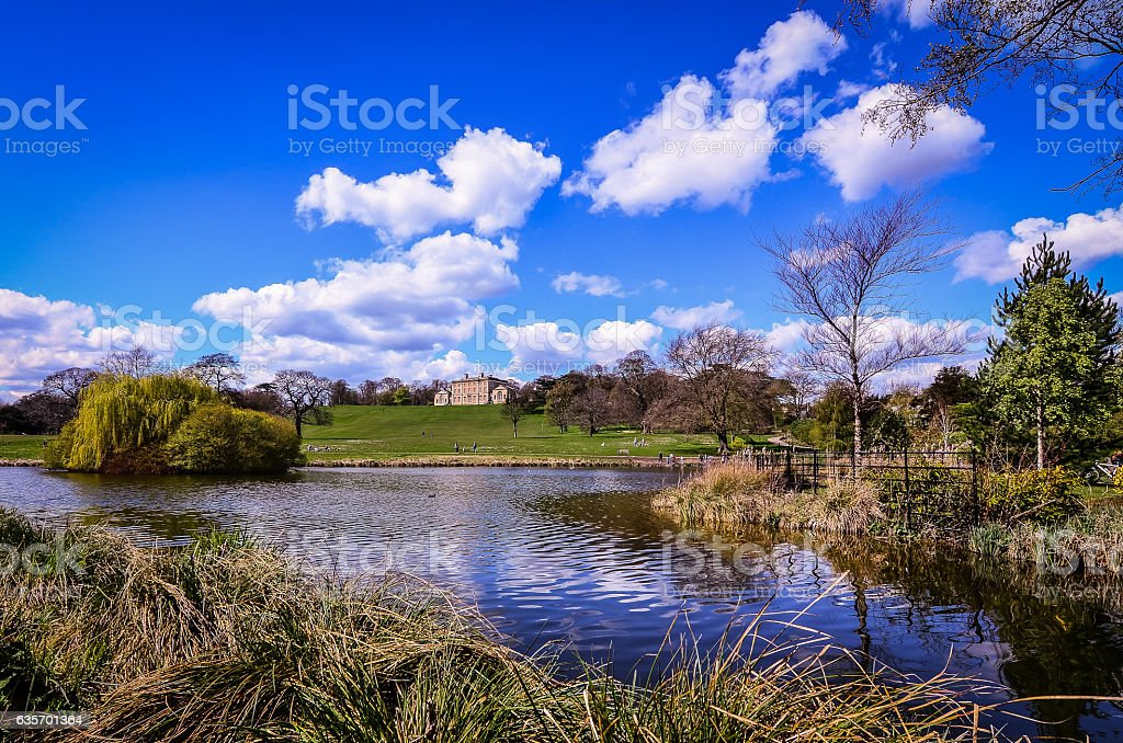 Cusworth Hall in Doncaster, UK. royalty-free stock photo