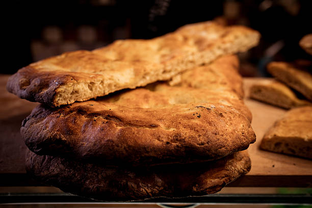 brot florence - kochen mit oliver stock-fotos und bilder