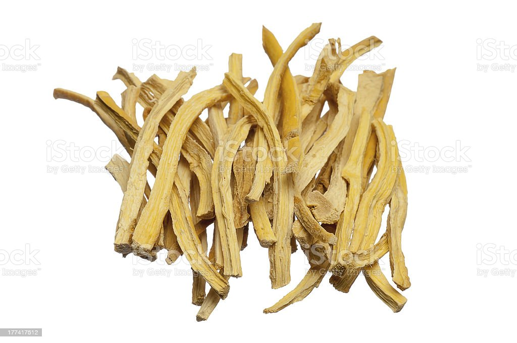 cut dried root royalty-free stock photo