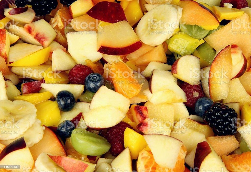Cut Fruit Background royalty-free stock photo