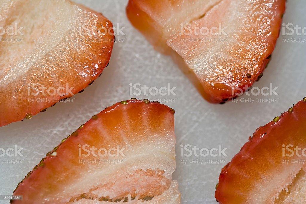cut fruit royalty-free stock photo