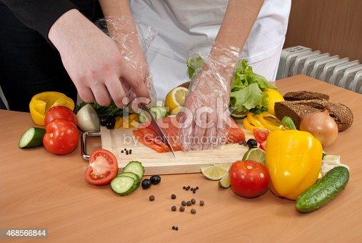 istock cut lettuce and salmon 468566844