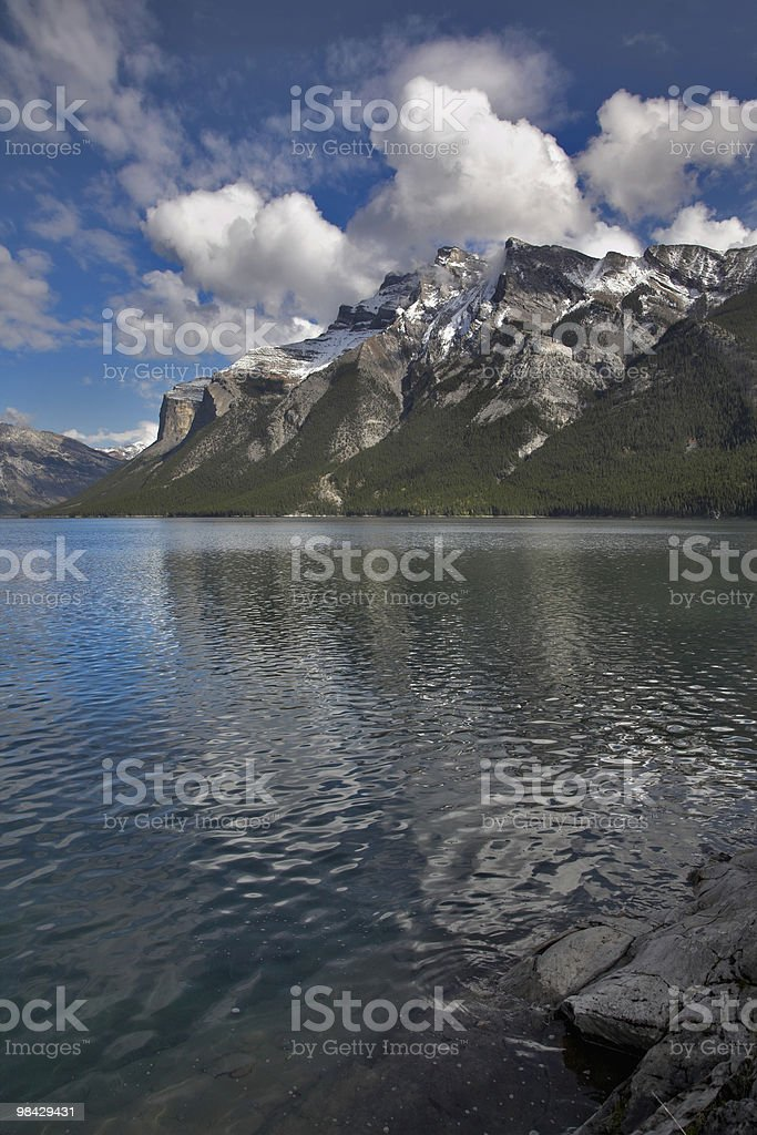 Cut mountains. royalty-free stock photo