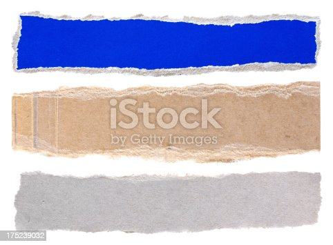 istock Cut Or Torn Paper 175239032