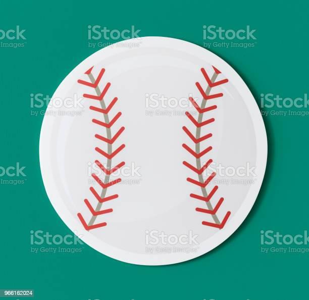 Klipp Ut Papper Baseball Grafik-foton och fler bilder på Atlet