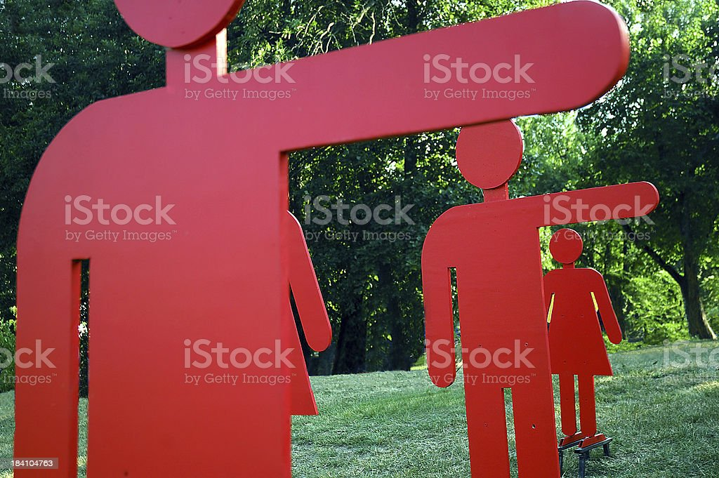 Cut Outs royalty-free stock photo