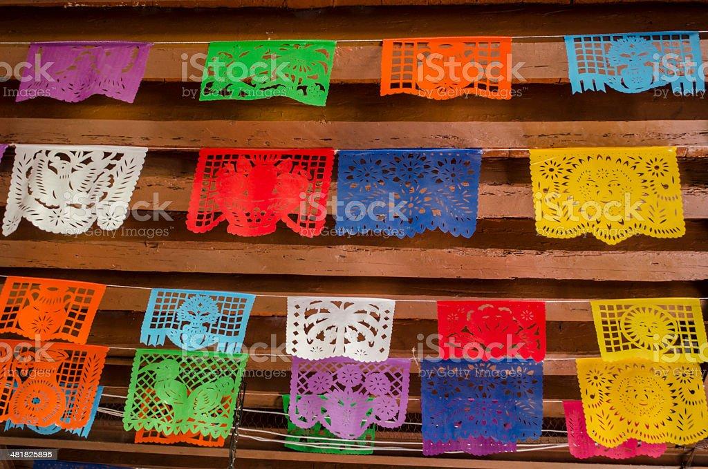 Corte decoración de papel - foto de stock