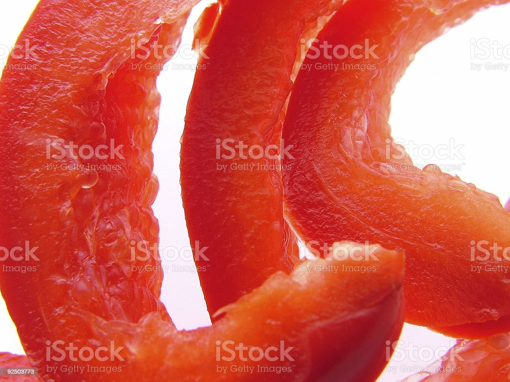 cut pepper royalty-free stock photo