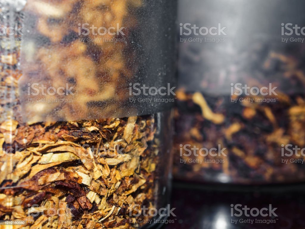 Cut Pipe Tobacco Stock Photo - Download Image Now - iStock