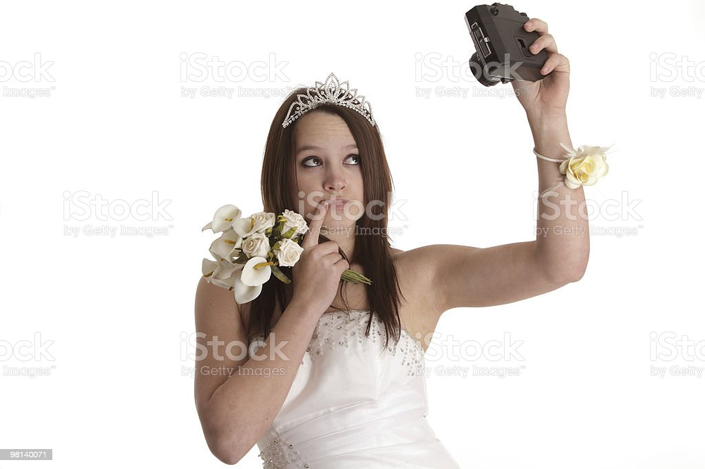 Cut price wedding photography royalty-free stock photo