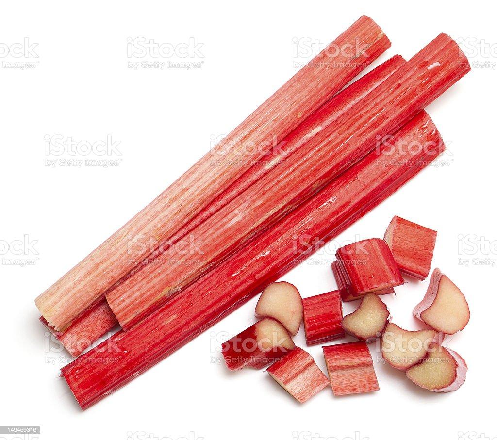 cut Rhabarber-sticks – Foto