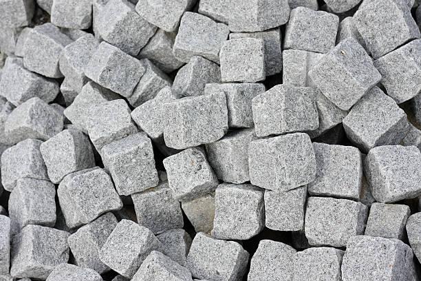 Cut Rocks Pattern bildbanksfoto