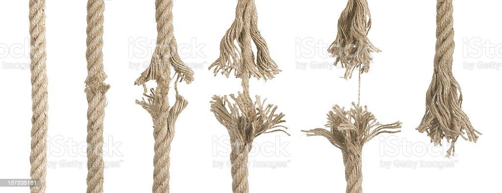 Cut Rope stock photo