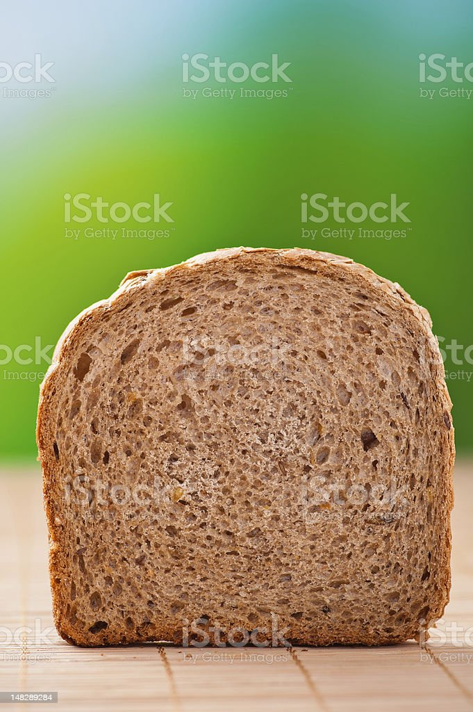 cut rye bread royalty-free stock photo