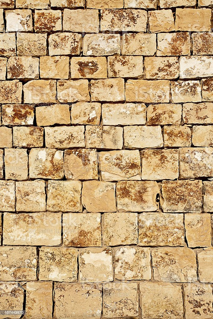 Cut Stone Wall Background. royalty-free stock photo