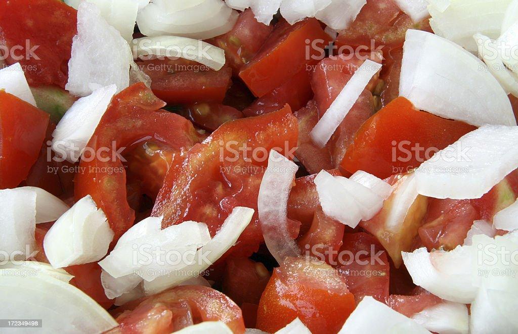 cut tomato royalty-free stock photo