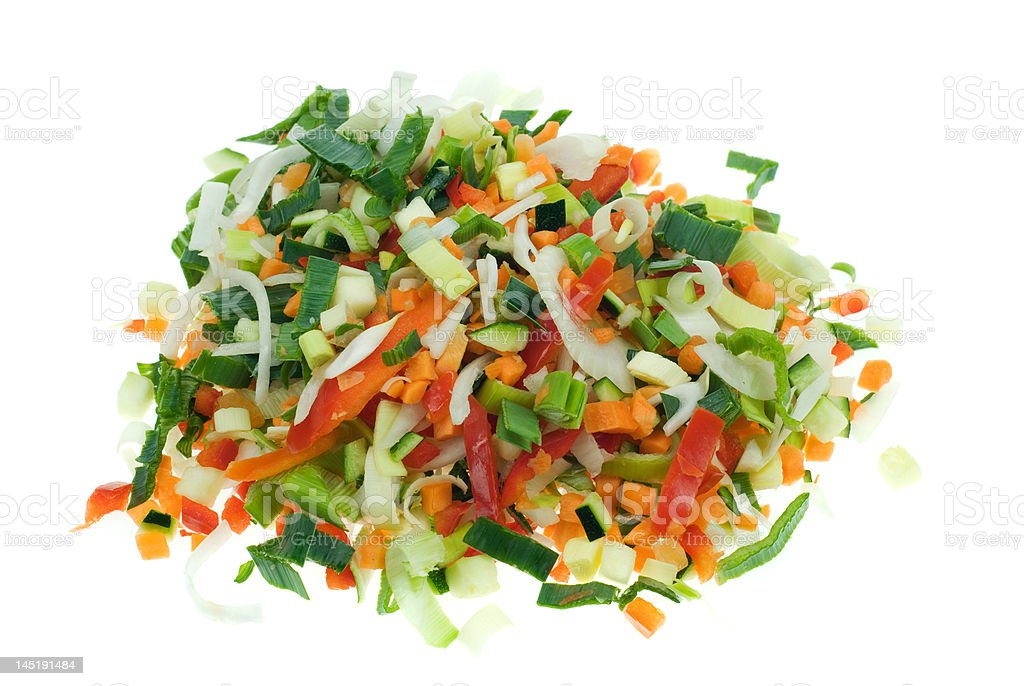 cut vegetables royalty-free stock photo