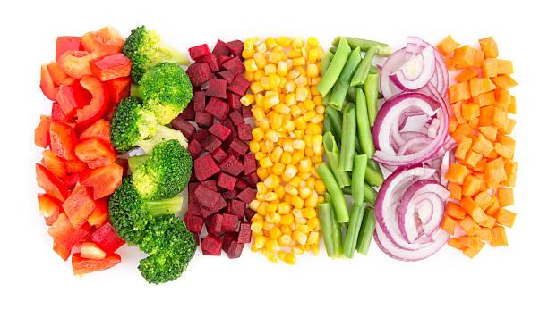 カット野菜  - カット野菜 ストックフォトと画像
