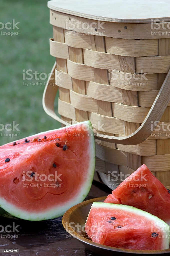 Cut Watermelon royalty-free stock photo