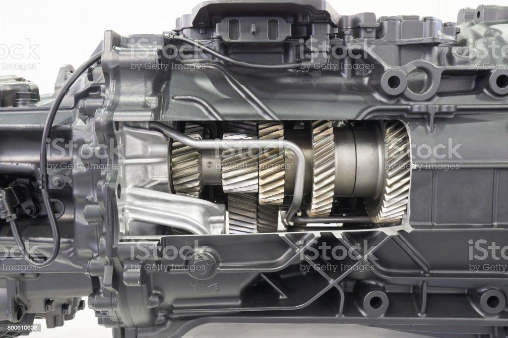 Cutaway Getriebe des LKW – Foto