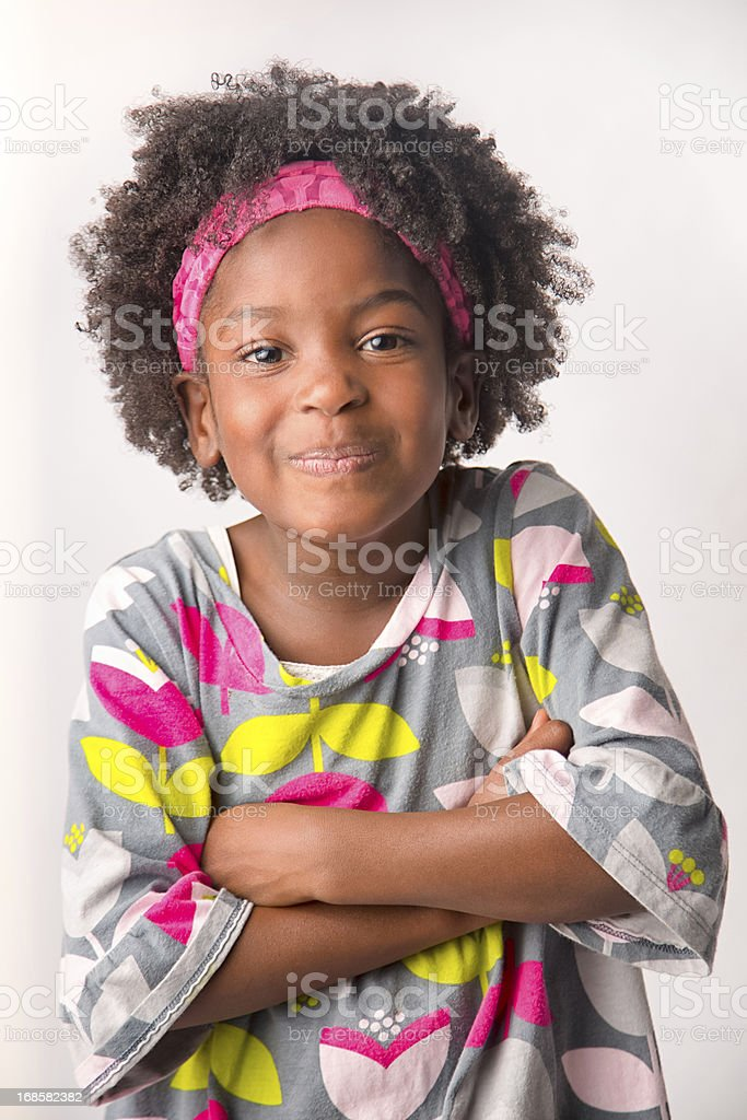 Cute 5 Year Old African American Girl Stock Photo More Pictures Of