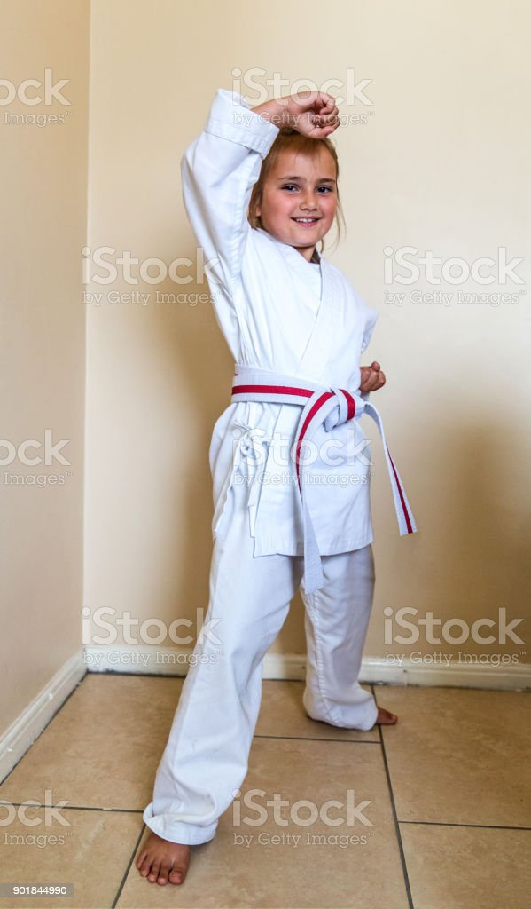 Sexy karate outfit — photo 8